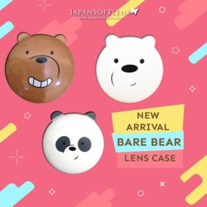 bare bear lens case
